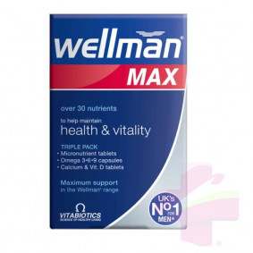 WELLMAN MAX * 84 TABS/CAPS