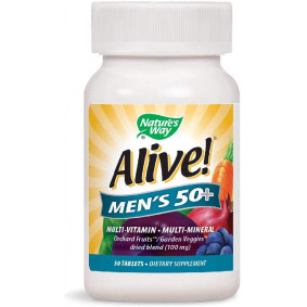 ALIVE MEN'S 50+ * 50 TABS