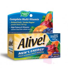 ALIVE MEN'S ENERGY * 50 TABS