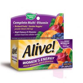 ALIVE WOMEN'S ENERGY * 50 TABS
