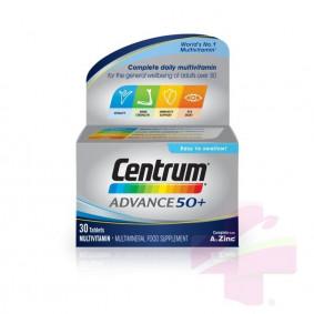 CENTRUM ADVANCE 50+ * 30 TABS