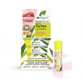DR ORGANIC TEA TREE LIP...