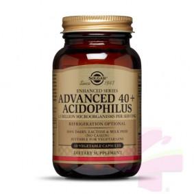 SOLGAR ADV. 40+ ACIDOPHILUS...