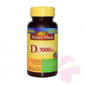 N/M D3 1000 I.U  * 100 S/G