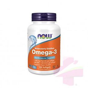 NOW OMEGA-3 * 100 SOFTGELS